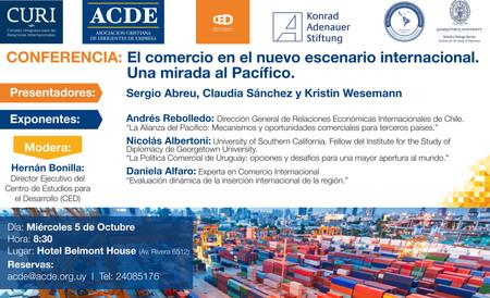 Conferencia Comercio Internacional