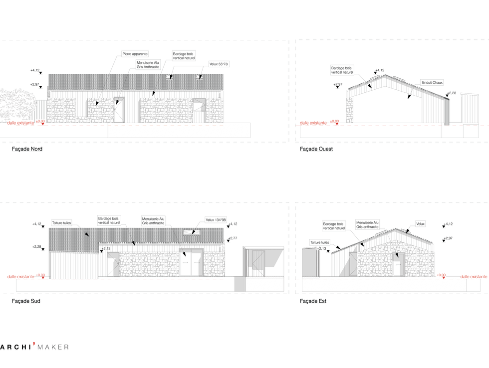 02 Projet -Plan de Façade©Archi'maker-01