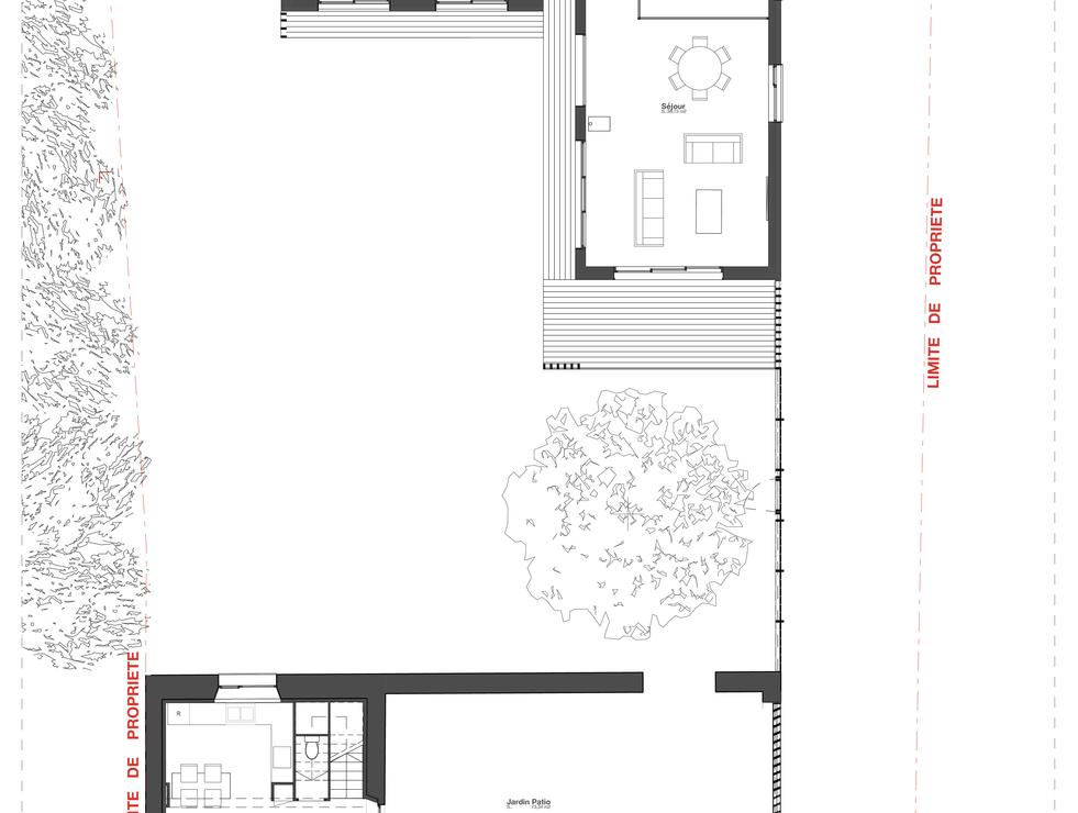 03 Plan de Rez de Chaussée©Archi'maker-0