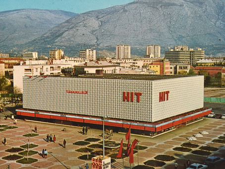 17 Examples of the Stunning Architectural Modernism of Yugoslav Department Stores
