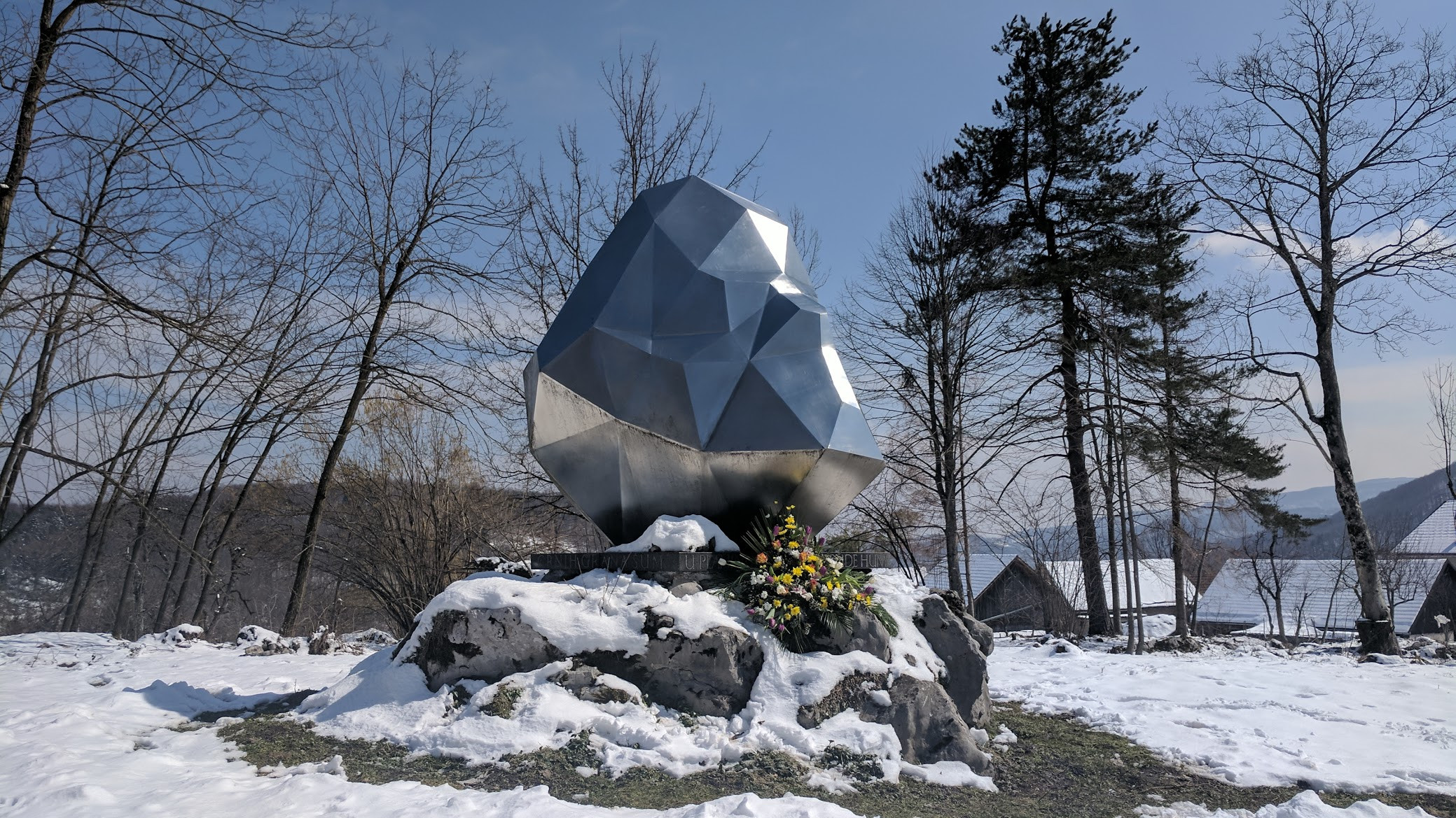 Spomenik Database Monument To Ivan Goran Kovacic At Lukovdol