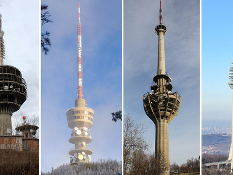 The Iconic Concrete Transmission Towers of Yugoslavia