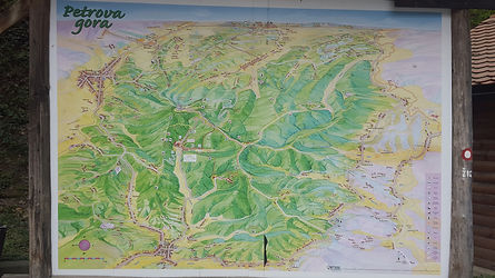 This is a link to a high quality map of the Petrova Gora region.