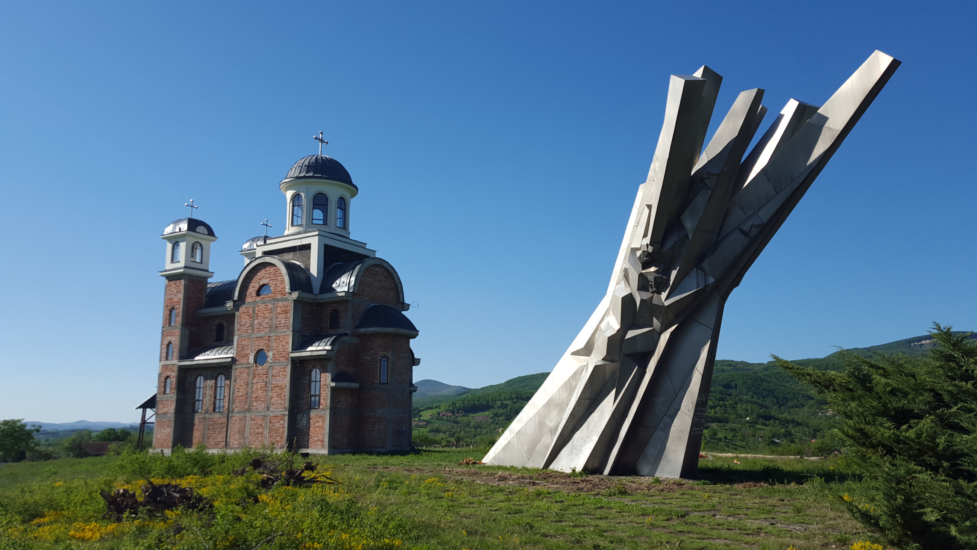 Spomenik Database Monument To Fallen Soldiers At Ostra