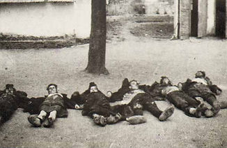 Killed Partisans in Zabari village, 1943