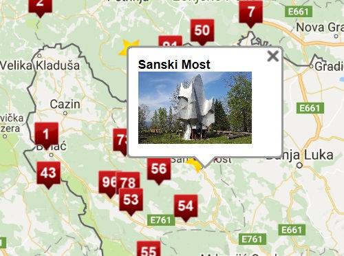 Karta Yugoslavia.Spomenik Database Mapping The Spomeniks Of Historic Yugoslavia