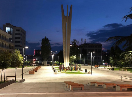 After years of neglect, the city of Priština, Kosovo rehabs a notable Yugoslav memorial