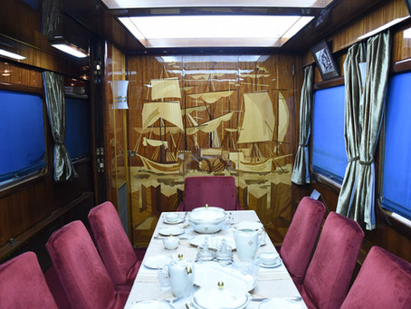 All Aboard!  Explore the legendary & luxurious private train of Yugoslav president Josip Broz Tito
