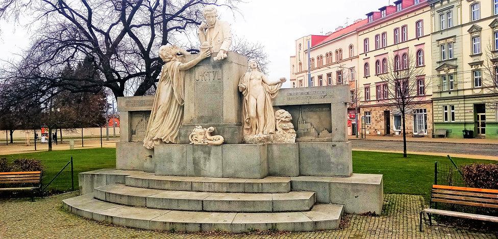 Památník Josefa Kajetána Tyla - Plzeň 2.