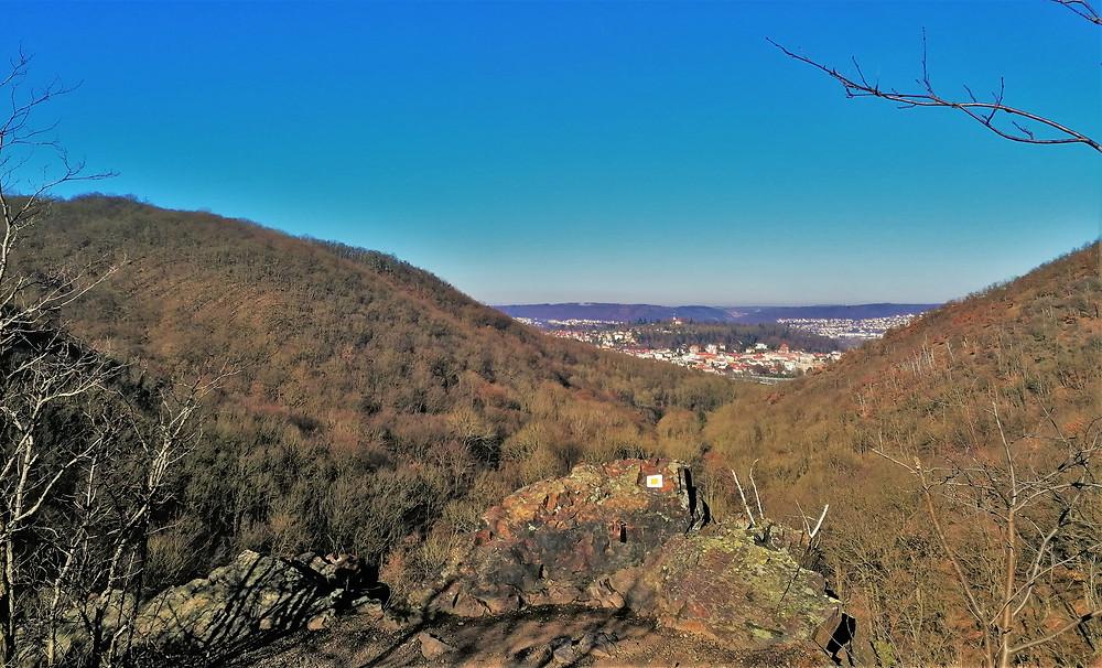 Nickerleho vyhlídka dokonale obrazně popíše podobu Břežanského údolí