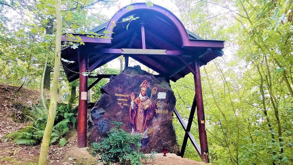 X - Kaple svatého Vojtěcha na Ticholovci