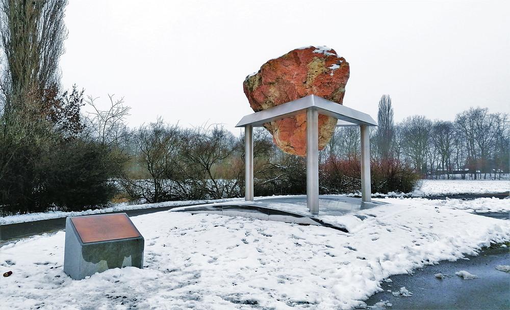Socha Zákon nezvratnosti přibyla v Terezíně v roce 2015