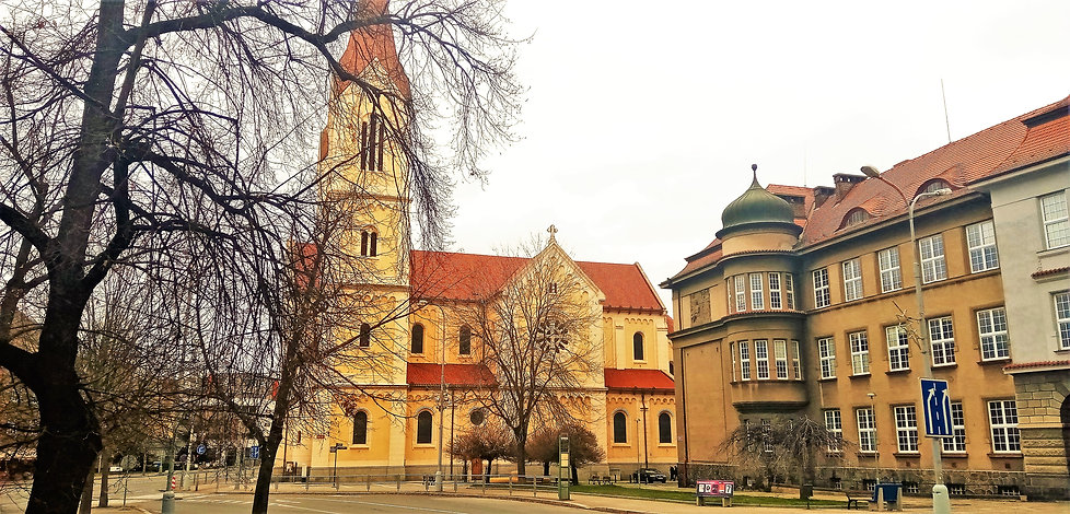 Kostel svatého Jana Nepomuckého - Plzeň
