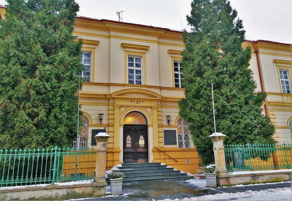 Budova bývalé terezínské školy