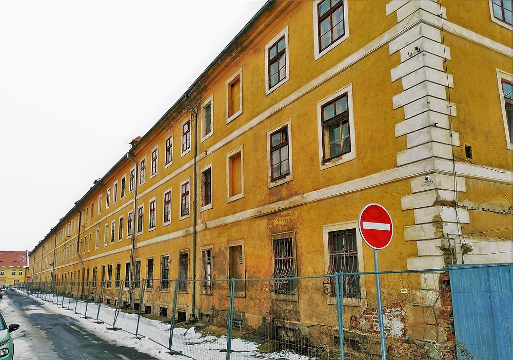 Bývalá drážďanská kasárna v Terezíně