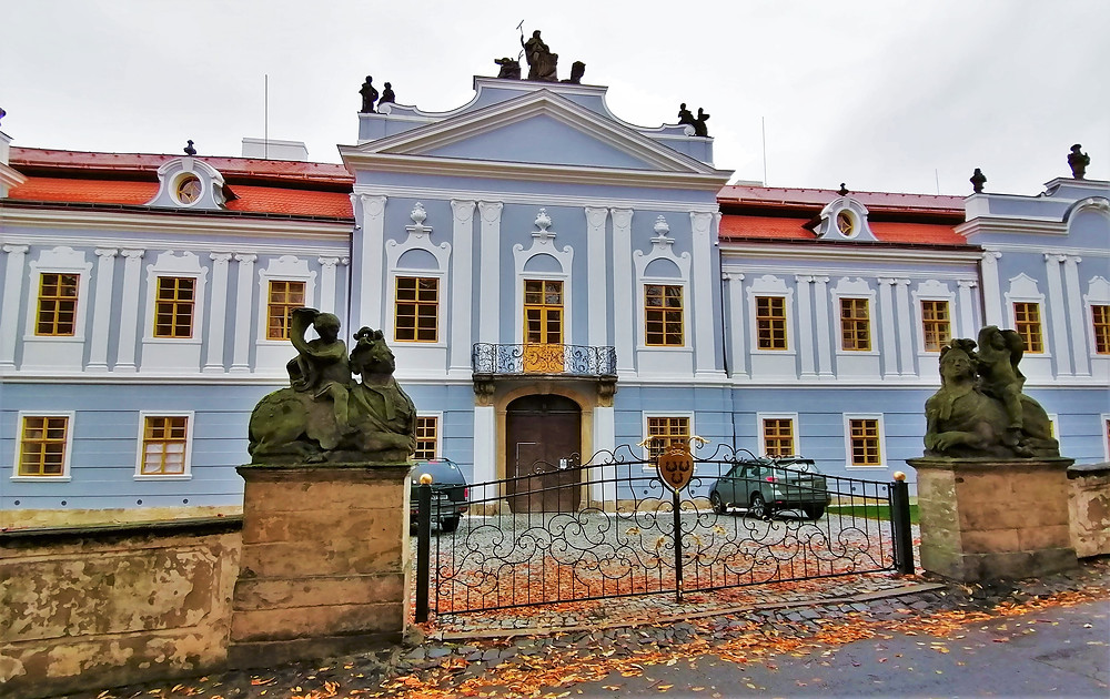 Perucký zámek po rekonstrukci