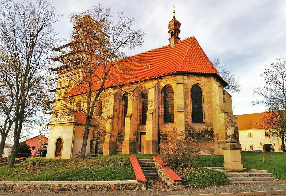 Kostel Stětí svatého Jana Křtitele v Libčevsi