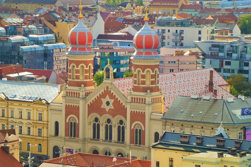 Největší česká synagoga - Velká synagoga