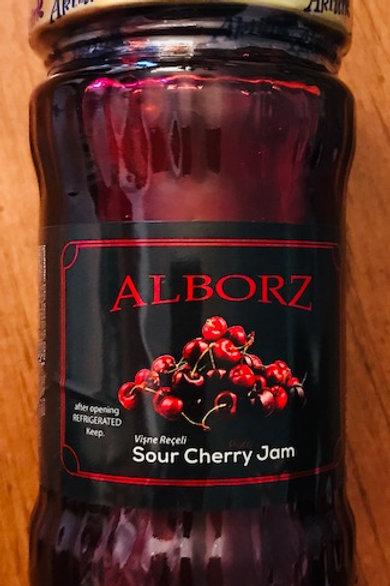 Sour Cherry Jam-10 PK