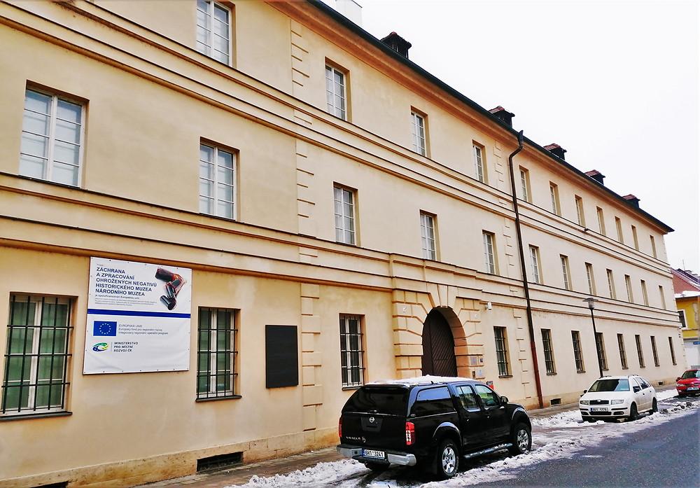 Bývalá hamburská kasárna v Terezíně