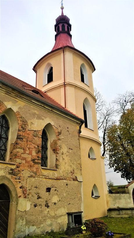 X - Kostel svatého Prokopa ve Všehrdech