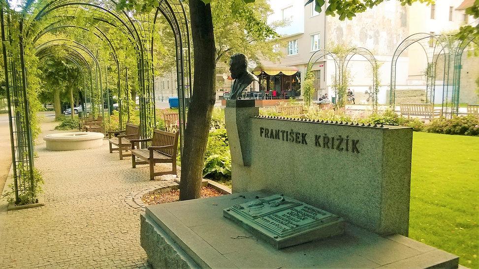 Památník Františka Křižíka v Křižíkových