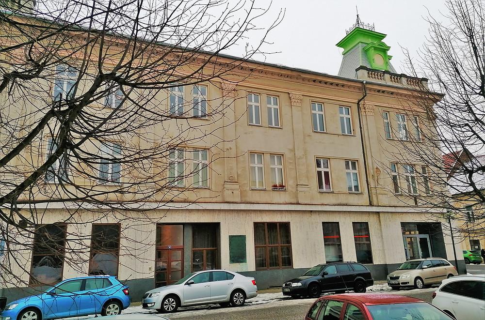 Budova bývalého vedení SS v Terezíně