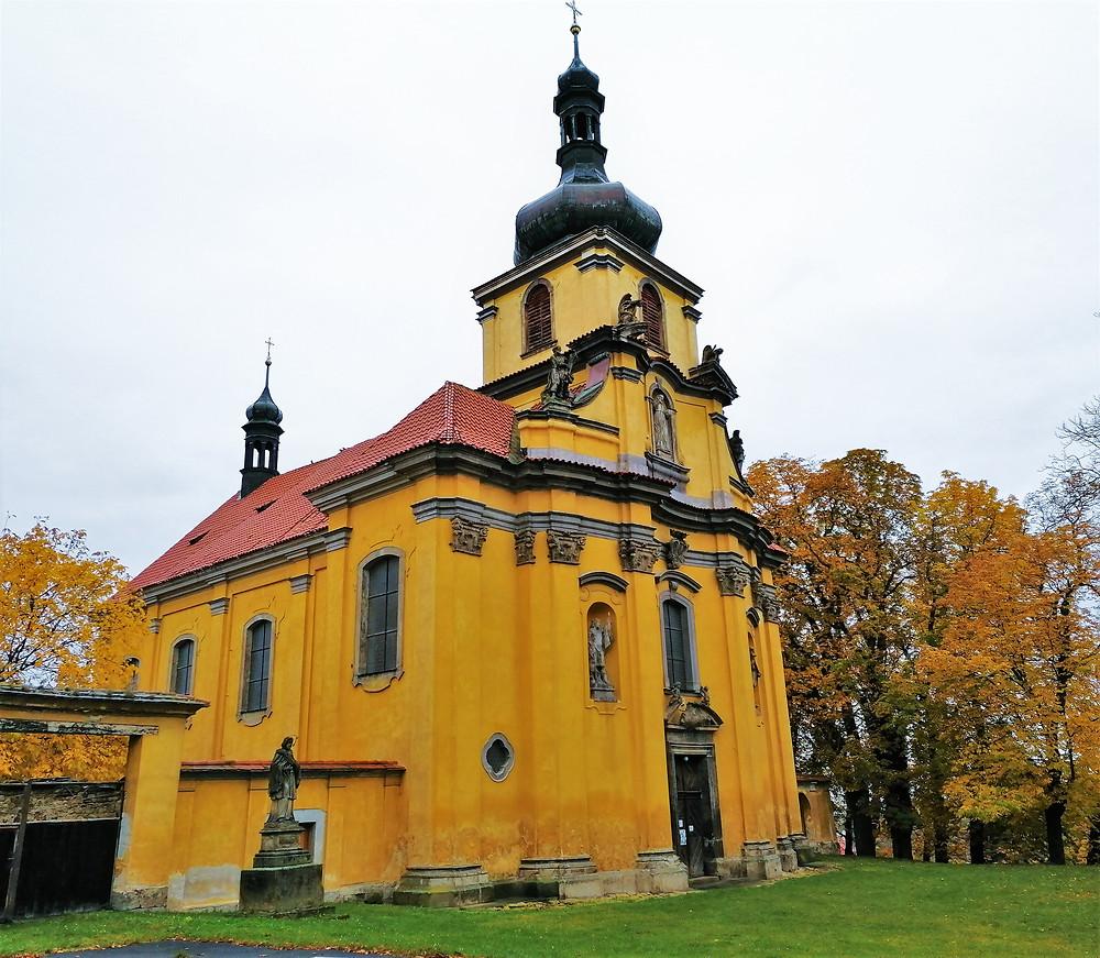 Kostel svatých Petra a Pavla na Peruci