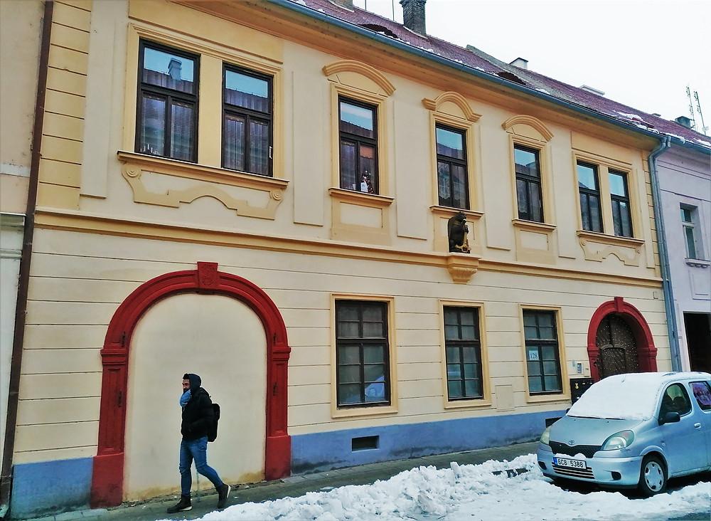 Typická ukázka klasicistního domu v Terezíně