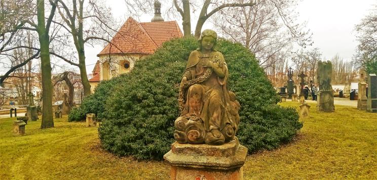 Galerie: Plzeňský Slavín u kostela svatého Mikuláše