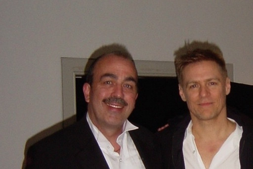 Phil Jay With Bryan Adams London Magician