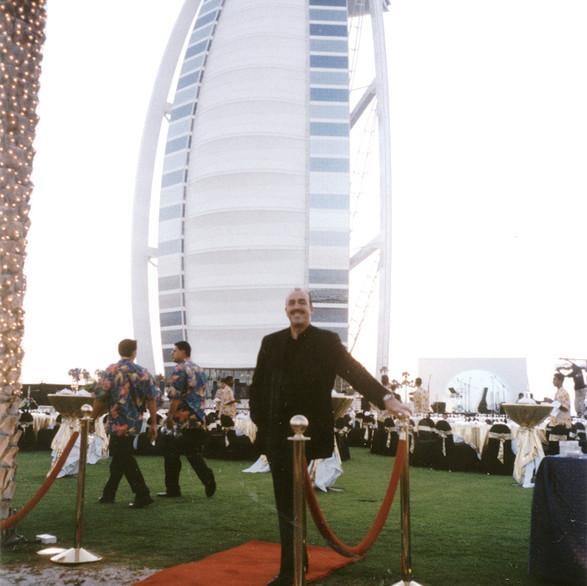 Phil Jay Magician At The The Burj Al Arab Dubai