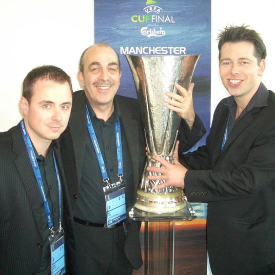 Phil Jay Magic At The UEFA Cup Final