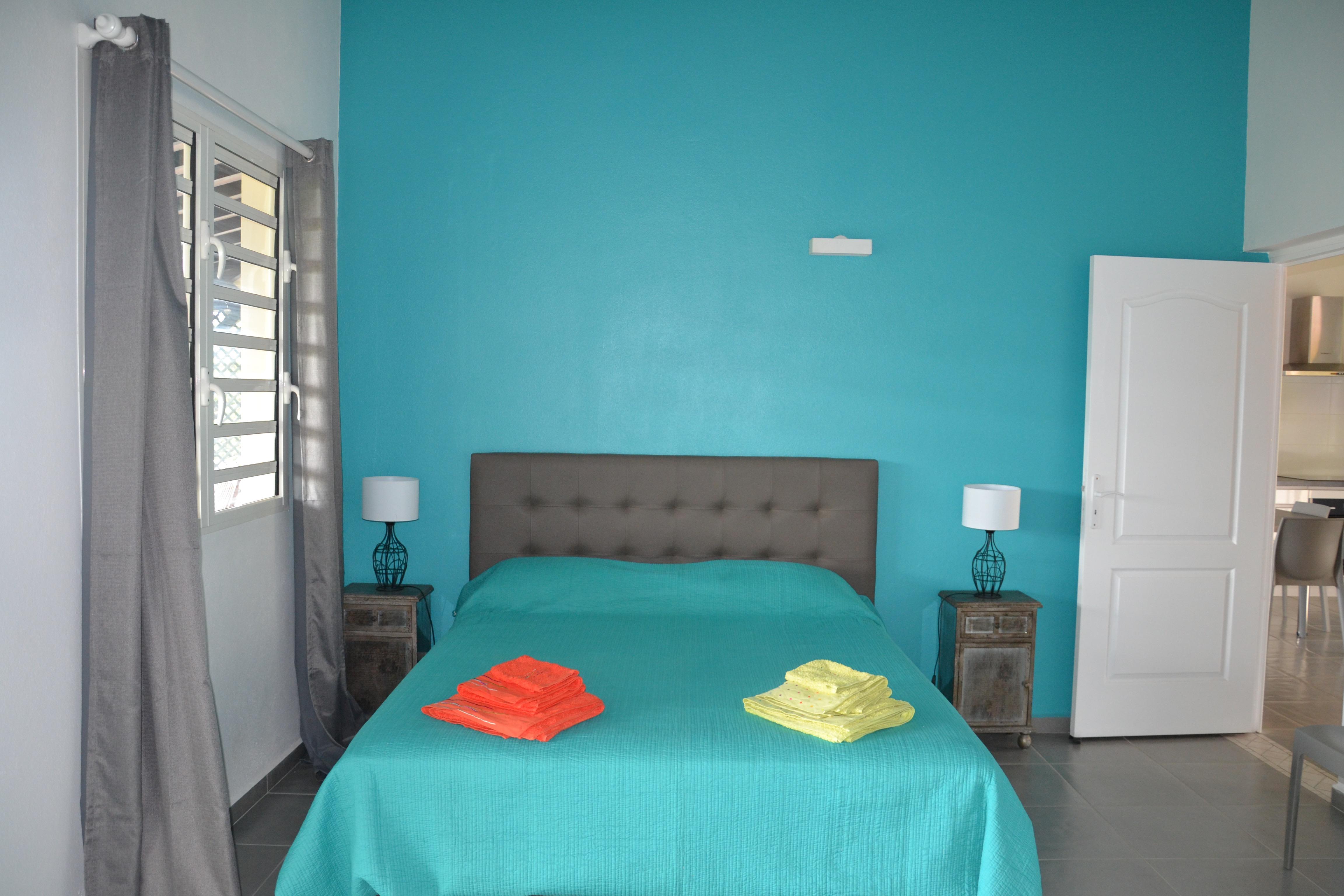 La chambre bleu