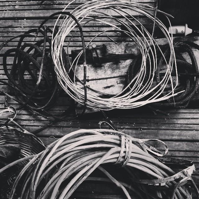 Fabrication de Paniers de Guadeloupe#blancoynegro #blackandwhite #bw #bandw #BLACKANDWHITEPHOTOGRAPH