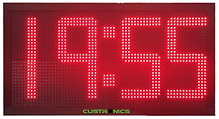 gps_world_clock_led_display_panel_malaysia