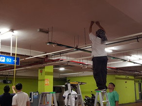 11th October  2018, LED Display Panel Installation