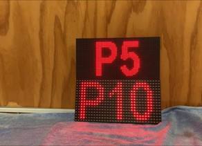 How to choose pixel pitch for indoor sign (P5 and P10)?