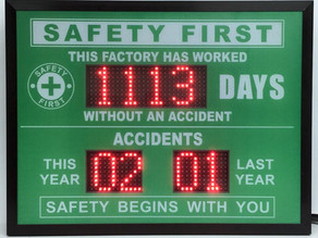 Safety Awareness with Safety Scoreboard