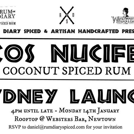 Cocos Nucifera rum launch
