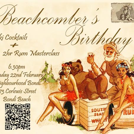 Beachcomber's Birthday