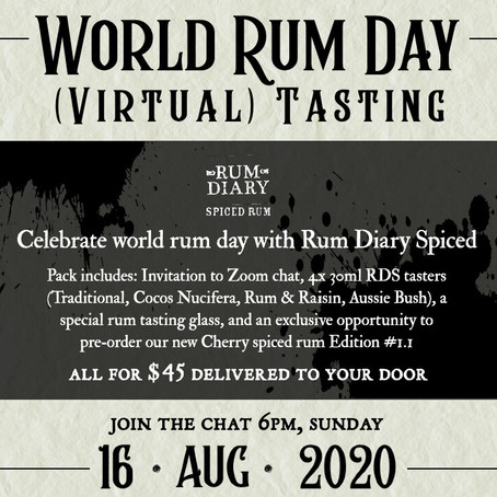Rum Diary Spiced - World Rum Day
