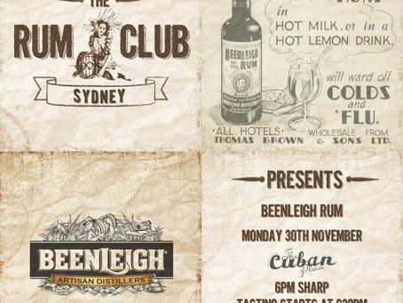 Sydney Rum Club - Beenleigh Rum