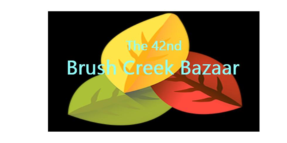 The 42nd Annual Brush Creek Bazaar