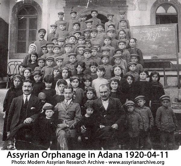 Assyrian Orphanage in Adana Ca 1919-1921