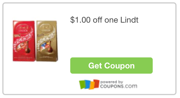 Click here to print Lindt LINDOR Truffles coupon.