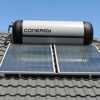 Conergy Solar Hot Water System Repair