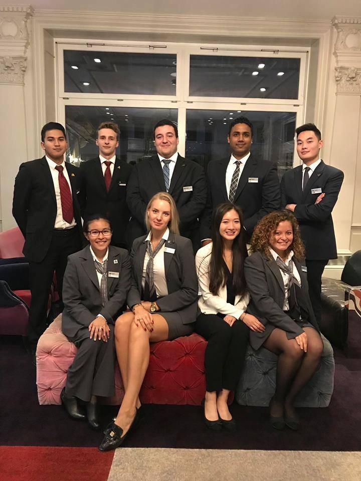 Hotel Institute Montreux Gen Z students