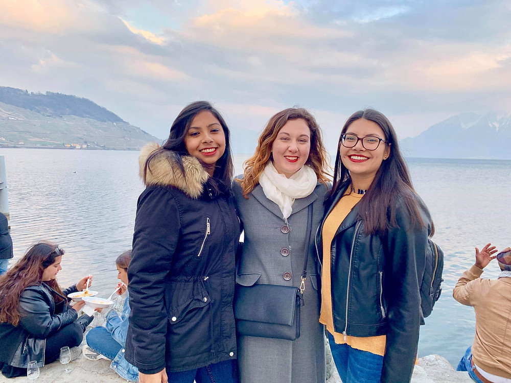 Hotel Institute Montreux students attending Cully Montreux Jazz Festival