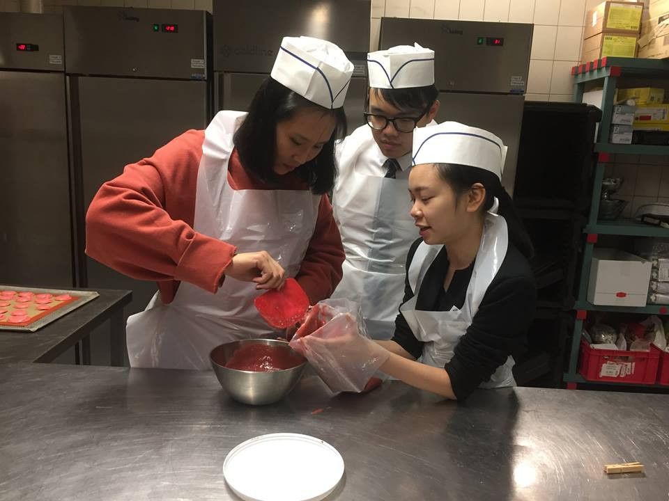 Pastry Masterclass at Hotel Institute Montreux